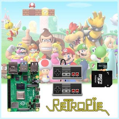Retro Game Console Emulator met Raspberry Pi 4 Model B 2GB