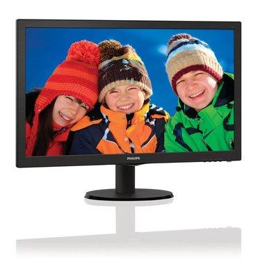 Mon Philips 23.6Inch 243V5LHSB / VGA / F-HD / DVI-D