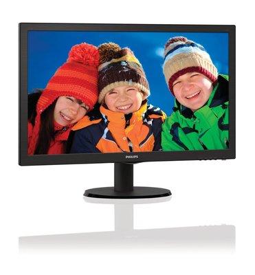 Mon Philips 21.5Inch 223V5LSB LED / VGA / DVI / ArtDesign