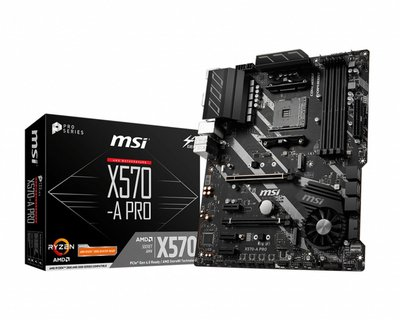MSI X570-A PRO Socket AM4 ATX AMD X570