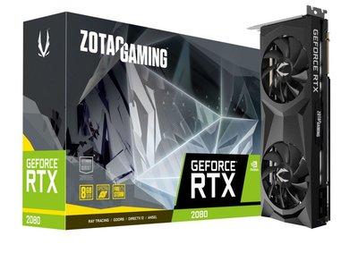 Zotac ZT-T20800F-10P videokaart NVIDIA GeForce RTX 2080 8 GB GDDR6