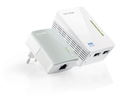TP-LINK TL-WPA4220KIT PowerLine-netwerkadapter