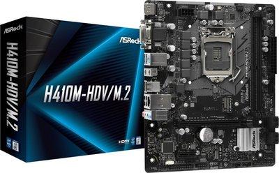 Asrock H410M-HDV/M.2 Intel H410