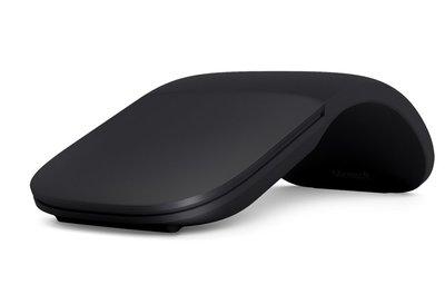 Microsoft Arc muis Bluetooth BlueTrack 1000 DPI Ambidextrous Zwart