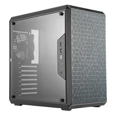 Case CoolerMaster MasterBox Q500L MidiTower Black mATX / OUT