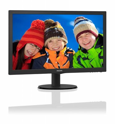 Mon Philips 21.5Inch 223V5LHSB LED / VGA / HDMI / ArtDesign