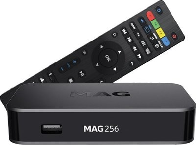 MAG 256 W2 hevc iptv set-top box