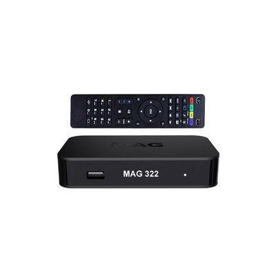MAG 322 W1 hevc iptv set-top box