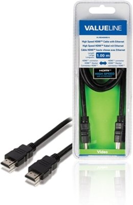 Valueline High Speed HDMI 1 meter