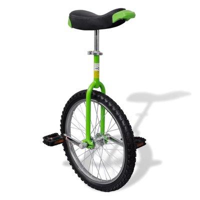 Eenwieler verstelbaar (groen / 20 inch)