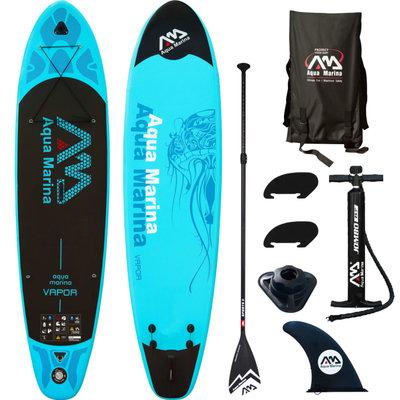SUP board Vapor blauw 330x75x10 cm