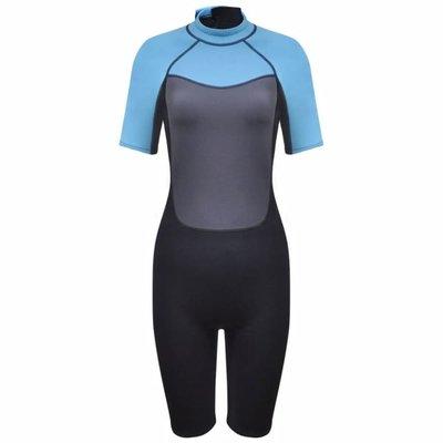 Dames wetsuit shorty 155-160 cm (maat S) 2,5 mm