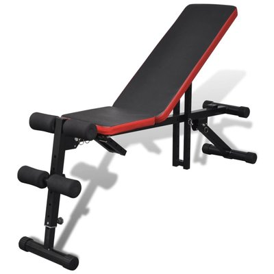 Sit-up bankje multifunctioneel en verstelbaar