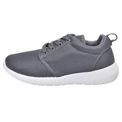 Sportschoenen met veters voor dames grijs (maat 37)