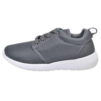Sportschoenen met veters voor dames grijs (maat 38)