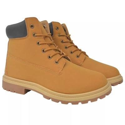 Heren boots camel maat 44