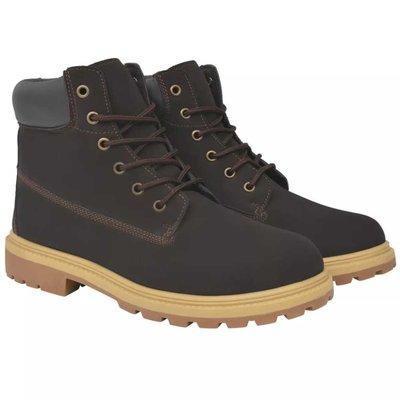 Heren boots bruin maat 43