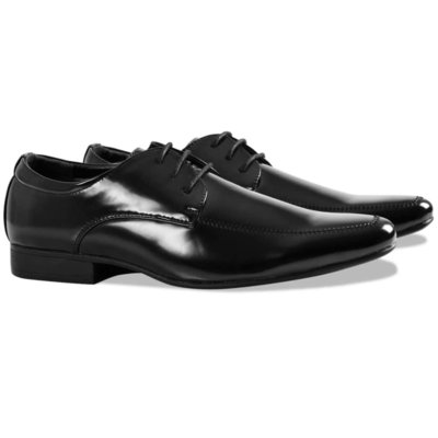 Nette schoenen smoking black tie maat 41 zwart