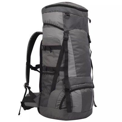 Backpack met regenhoes XXL 75 L antraciet