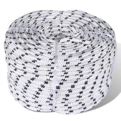 Boottouw polyester gevlochten 6mmx50m