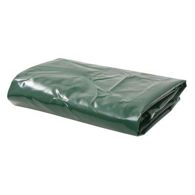Dekzeil 650 g/m² 4x7 m groen