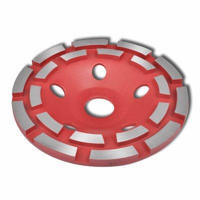 Schuurschijf met diamantkop 180 mm