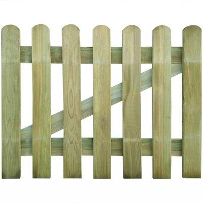 Tuinpoort 100 x 80 cm hout
