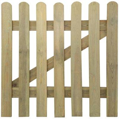 Tuinpoort 100 x 100 cm hout