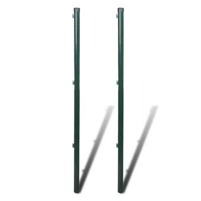 Afrasteringspaal 115 cm (2 stuks)