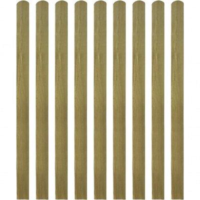 Heklat geïmpregneerd 10 st 140 cm hout