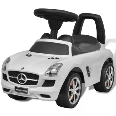 Mercedes Benz loopauto wit