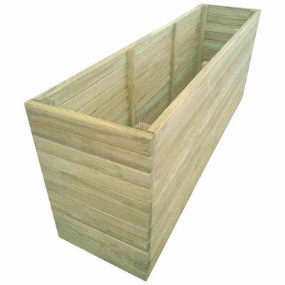 Plantenbank geïmpregneerd grenenhout 200x50x77 cm