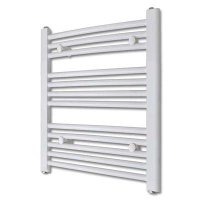 Badkamer radiator/handdoekenrek gebogen 500x764 mm 300 W