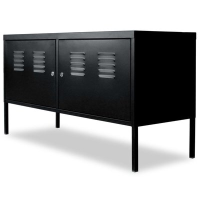 Tv-meubel 118x40x60 cm zwart