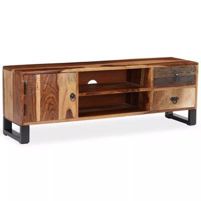 Tv-kast 120x30x40 cm massief sheesham hout