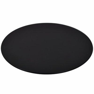 Tafelblad van gehard glas 600 mm rond