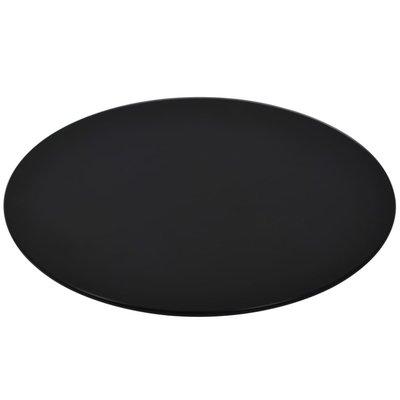 Tafelblad van gehard glas 900 mm rond