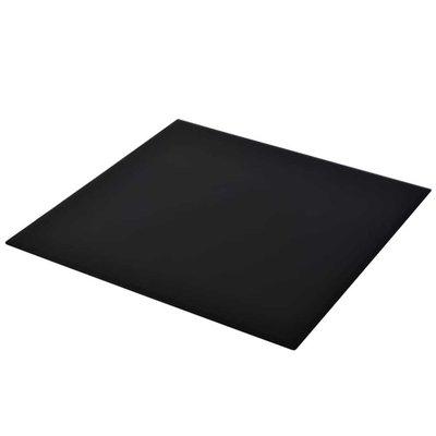 Tafelblad van gehard glas 700x700 mm vierkant