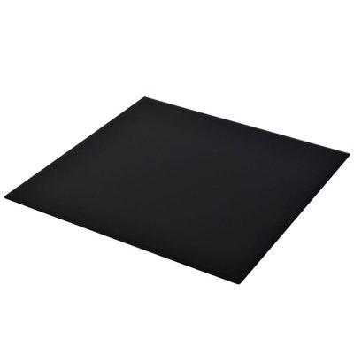Tafelblad van gehard glas 800x800 mm vierkant