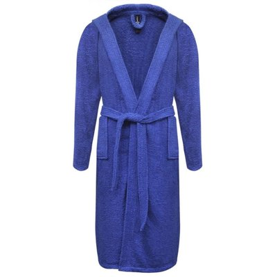 500 g/m² Badjas badstof blauw unisex (maat XXL)