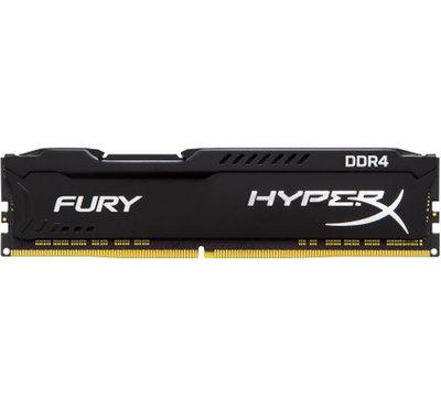 Kingston Hyper X FURY Black 8GB 2666MHz DDR4 DIMM 1 x 8 GB