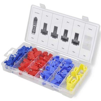 Set zelfstrippende connectors 65 st
