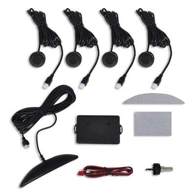 Parkeersensoren veiligheidssysteem 4 stuks (zwart)