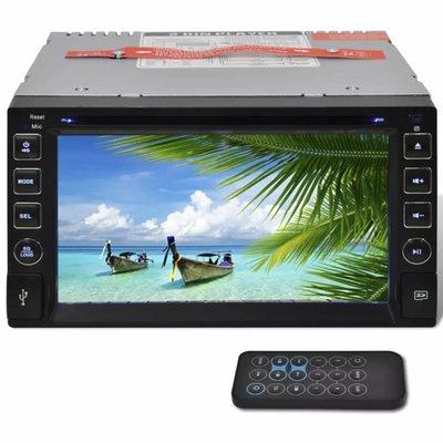 "Autoradio MP3 / MP5 / FM / Bluetooth en meer + 6,2"" HD touchscreen"