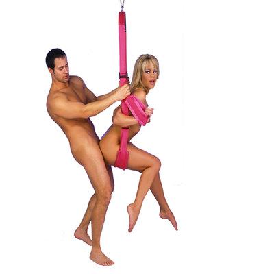 Fantasy Swing Seksschommel - Roze