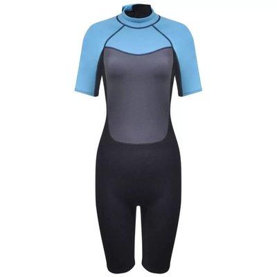 Dames wetsuit shorty 165-170 cm (maat L) 2,5 mm