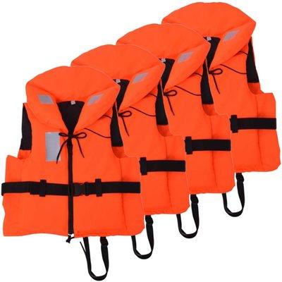 Zwemvesten 100 N 60-70 kg 4 stuks