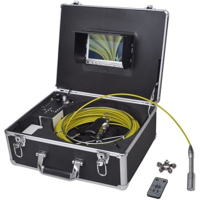 Leidinginspectiecamera 30 m met DVR bediening