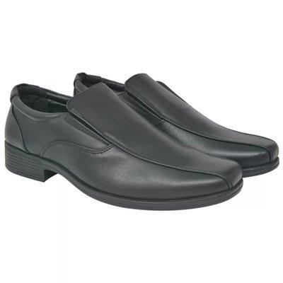 Heren loafers zwart maat 44 PU leer