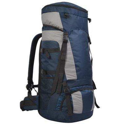 Backpack met regenhoes XXL 75 L marineblauw